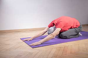 Older Man with Pilates